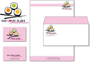 We Love Sushi - Pink Brand by lilithStyle