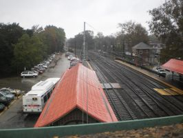 Above Overbrook Station by citynetter
