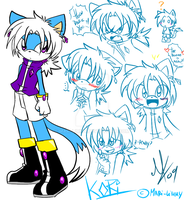 Kori the Cat - Ref. 2009 by Mari-Limmy
