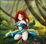 Merida FanArt by erohd