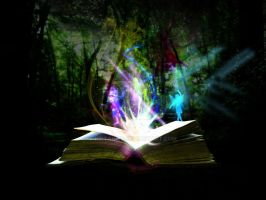 And, When the book open... by Kirtan-3d