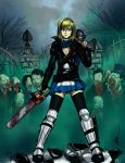 Alice in Zombieland by Perronegro300