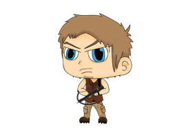 Daryl Dixon by DogDean
