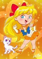 Sailor Venus by K-Bo by kevinbolk