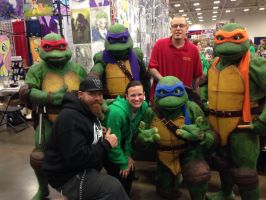 Me and mine and the Ninja Turtles!!! by ChrisOzFulton