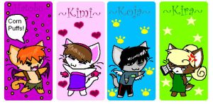 Angelicate Avenue BookMarks by PONYPUKE