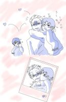 APH - It's just a kiss by MasterFranny
