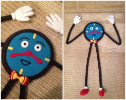 DHMIS Tony the Talking Clock Plush by Sioxanne