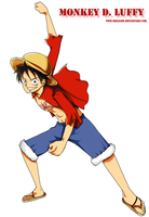 Monkey D. Luffy by Megalow