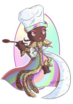 Cook Rose - Plants vs. Zombies: GW2 Fan Variant by Rose-Supreme