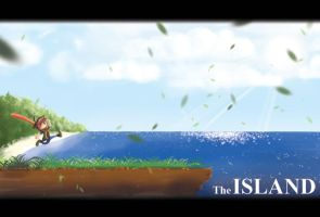 The Island Fan Piece by Ayjun-invayjun