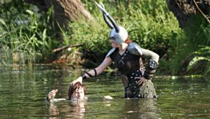 Dragons Cosplay: Hiccup and Dagur the Deranged by HicksBerlin