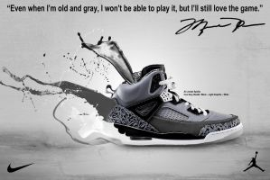 Jordan Spizike Advertisement by J10Designs