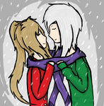 .:UTAU-Daily winter contest entry:. Lets keep warm by Universally-Skullie