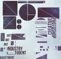 Typography and Shapes by VVenice