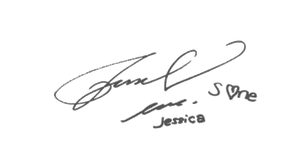 SNSD Jessica Signature ~PNG~ by JaslynKpopPngs