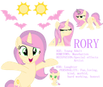 Rory Reference Sheet by LilMissMusicGirl96