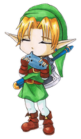 Chibi Adult Link by Ranefea