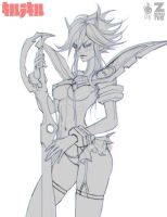 Kill La Kill WIP 1 by Zeronis