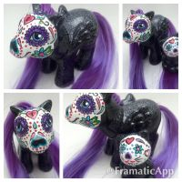 Sugar Skull Pony Gift by TiellaNicole