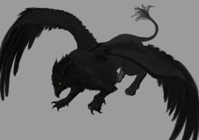 Gryphon WIP, almost done.... by Catwagons