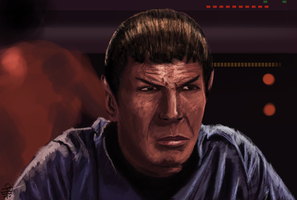 Mr Spock by leseraphin