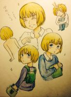 Back to school, Armin by Sumiko123