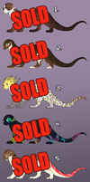 Otter Adoptables - SOLD OUT by AddictionHalfWay