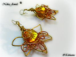 Honey Earrings by Elehanne