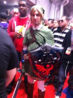 NYCC 2011 - Link by BluePhoenix-Ra