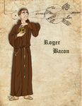 Medieval Scientist Roger Bacon by Pelycosaur24