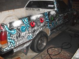 Right hand side of Ute W.I.P (8) by RealityBitez