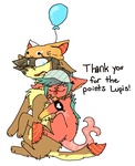 Thank you Lupis! by Peculiar-NomNom