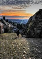 Gold Hill, Shaftesbury, Dorset by wildbunchz