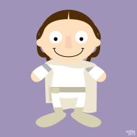 ADC: Padme by striffle