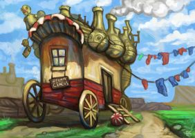 Steamcircus by Cinvira
