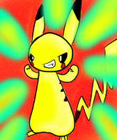PIKACHU by thedazedartist