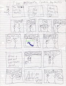 The Appropiate Comic Page Two by justtv