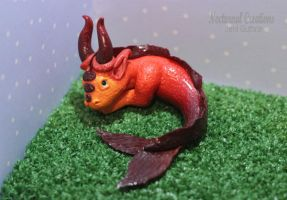 Red Sea Dragon by NocturnalCreations-x