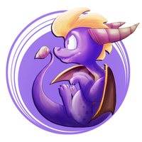 Spyro the Dragon by BatLover800
