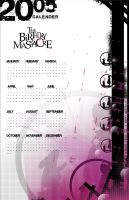 Calender with type by EyelessAngel