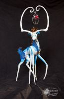 Masked: Soul Dancer - Sculpture by Escaron