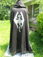 Skyrim Robe Back by WillowForrestall