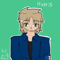 Commish-Harris bust by Akask1-chibi