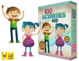 100 Activities Kit by SaltyMoose