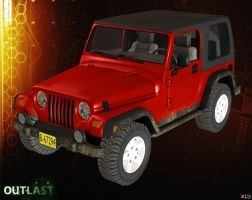 JEEP [OUTLAST] by Goreface13