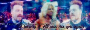Sheamus and Maryse Banner by verusImmortalis