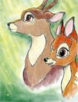 Bambi and the Great Prince by Husky-Heart