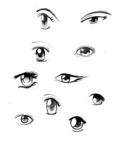 Eyes by Manga-bells
