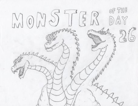Monster of the Day 26 by gojira92